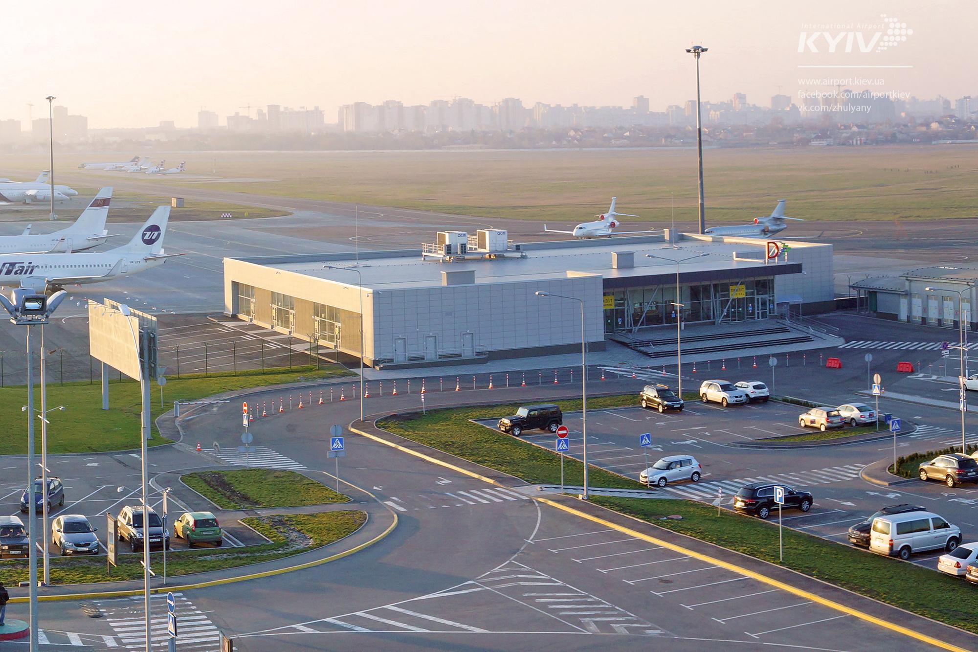 Терминал D аэропорта