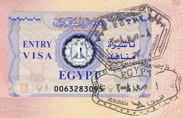 Стоимость визы в Египет выросла до 25 долларов