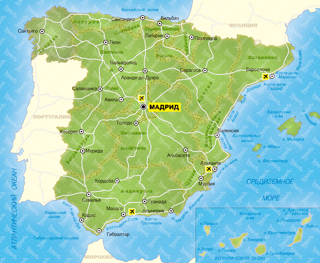 Испания приняла рекордное количество туристов